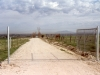 This was our first gate that was located at the entrance of Ridgecrest Drive, which is no longer there.
