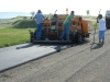 Paving crew on the new runway April 2012.