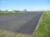 Nearly finished repaving the runway in April 2012