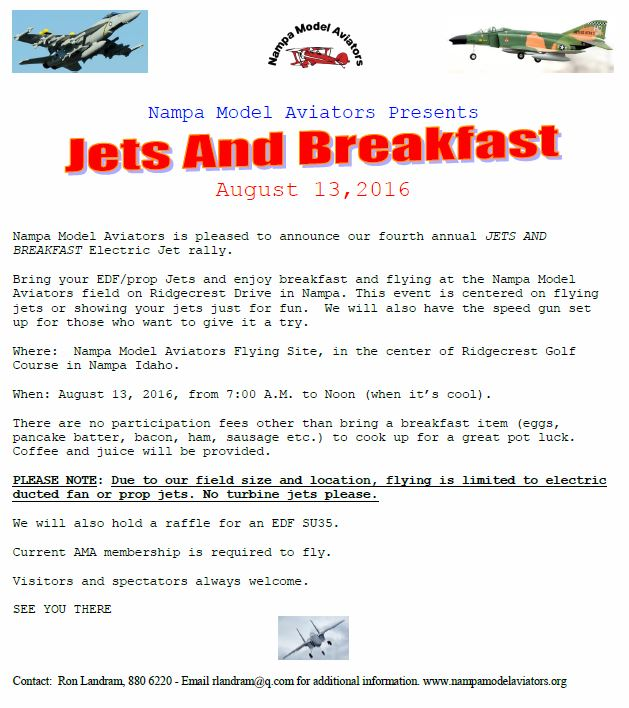 Jets and Breakfast 2016